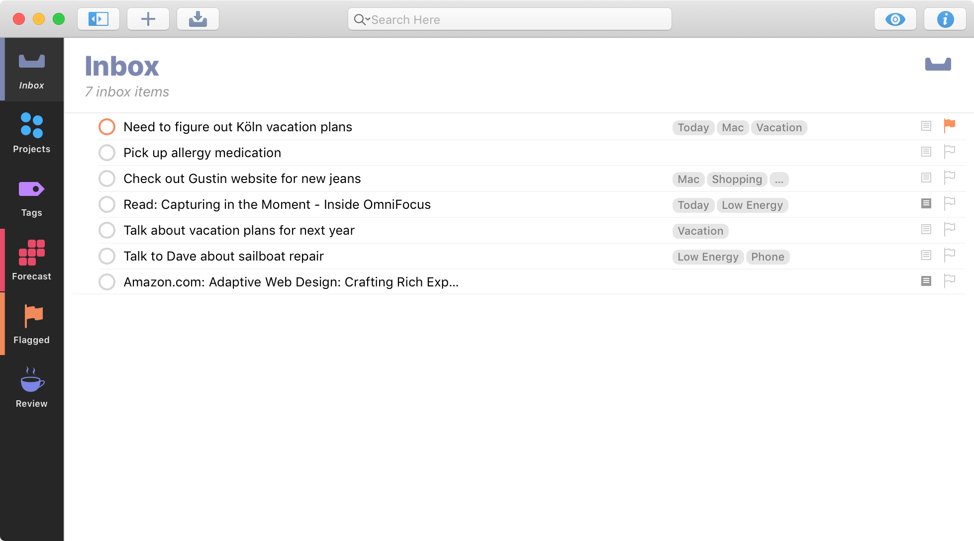 OmniFocus for Mac - The Omni Group