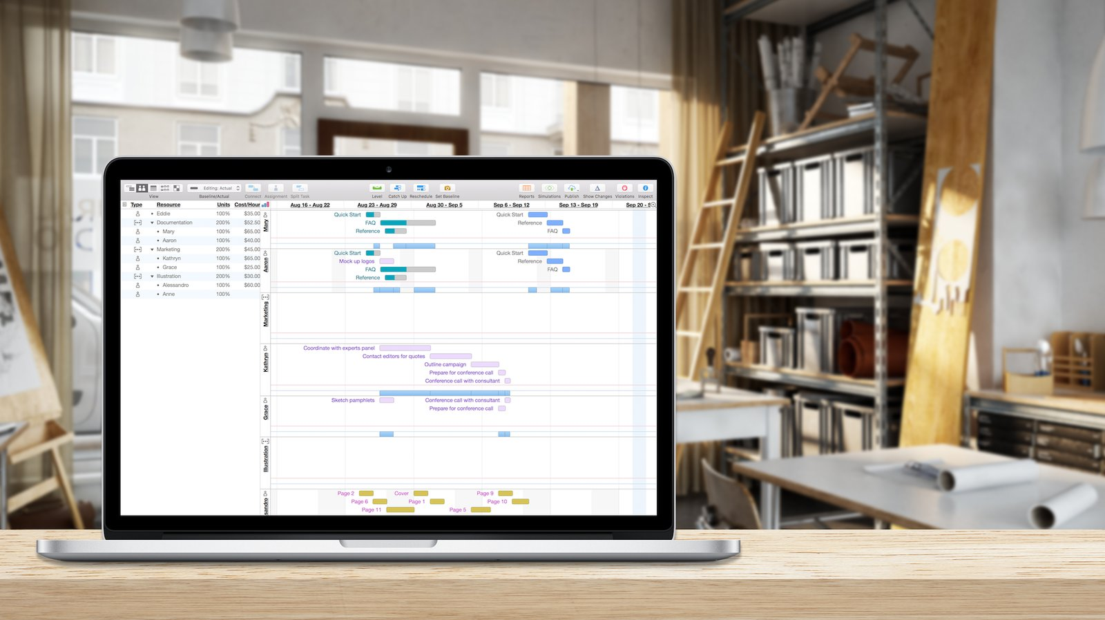 Omniplan project management for mac iphone and ipad the omni omniplan 3 nvjuhfo Gallery