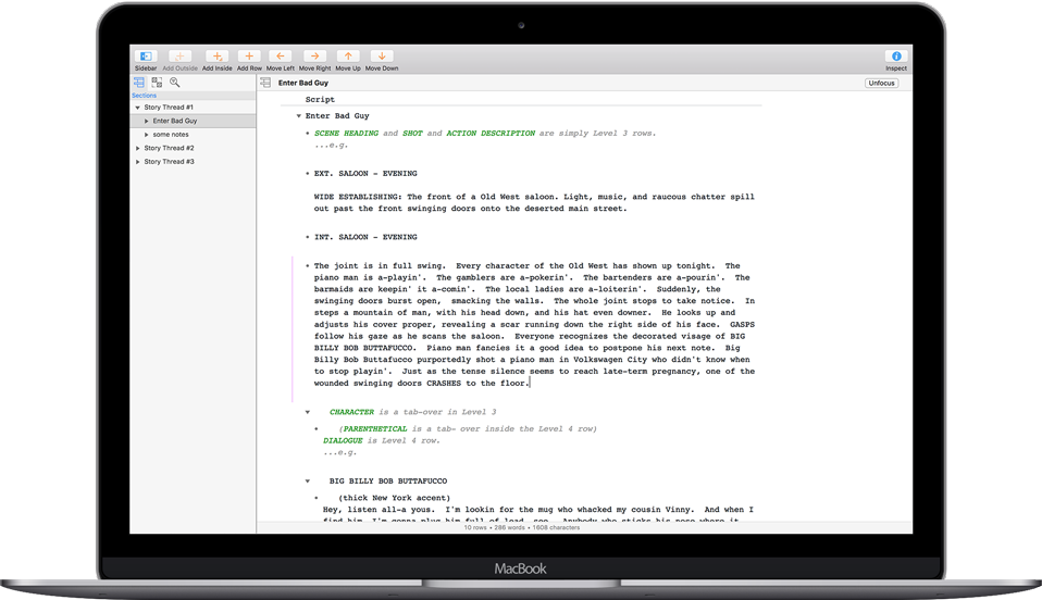 OmniOutliner for Mac - The Omni Group