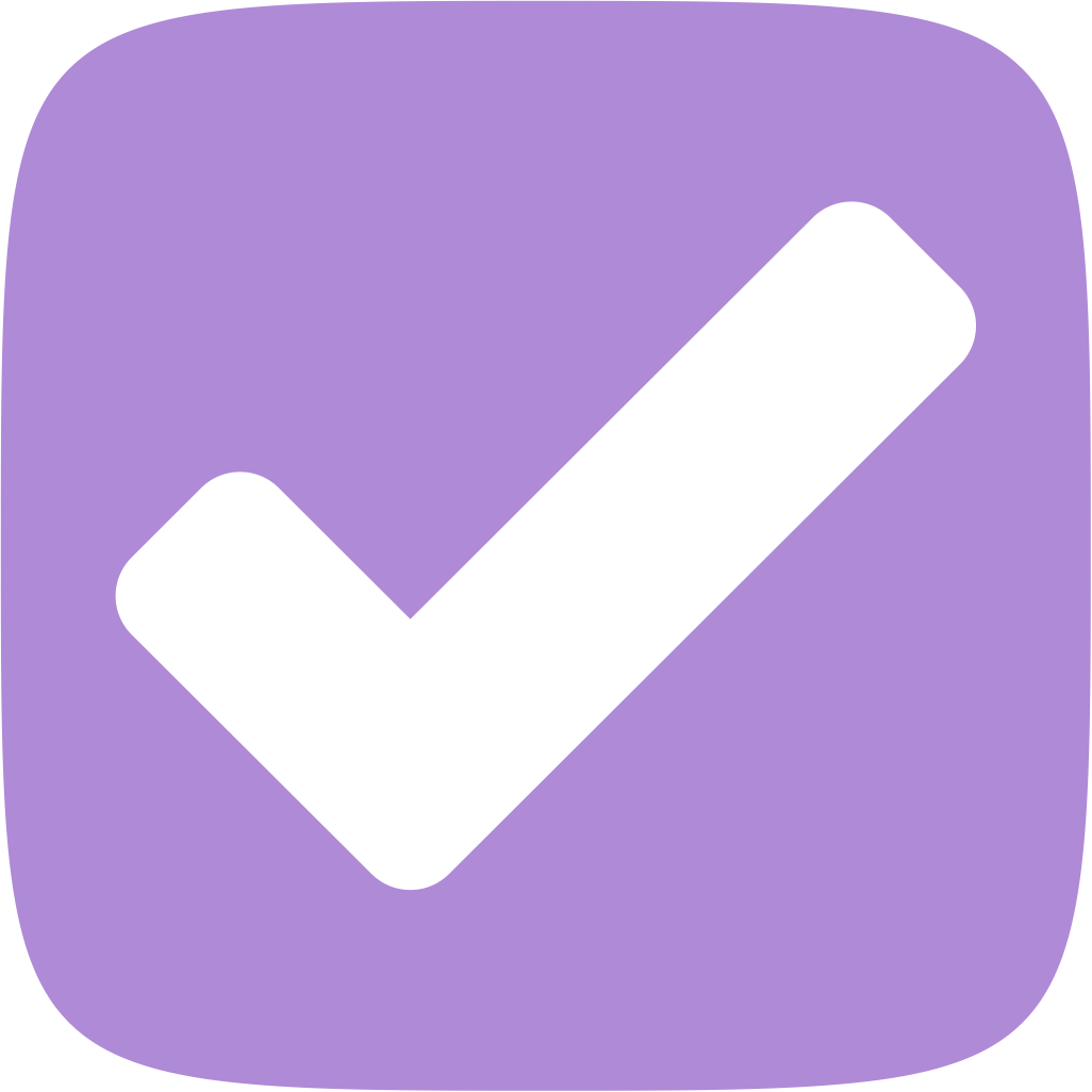 OmniFocus for the Web logo: a checkmark in a squircle.