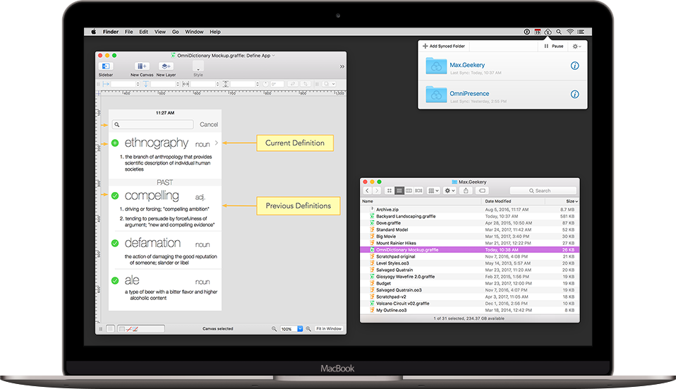 OmniPresence — document sync for Mac and all of Omni's apps