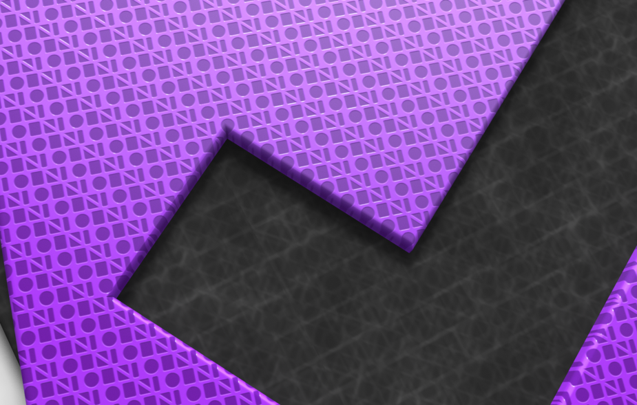 Close-up of OmniFocus app icon textures