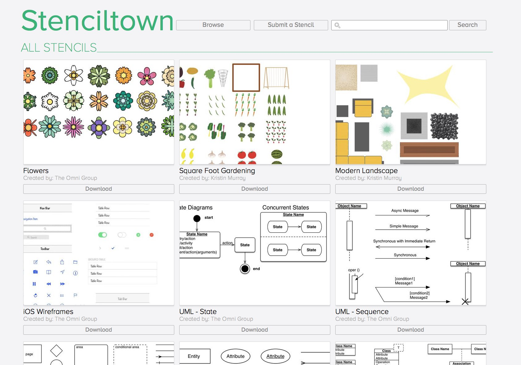 Screenshot of Stenciltown