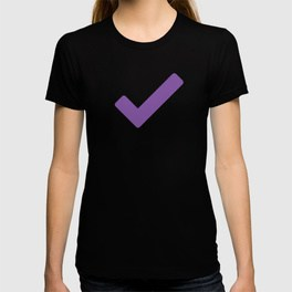 T-shirt with a purple OmniFocus checkmark