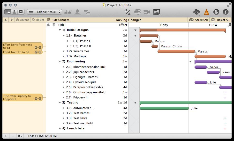 OmniPlan for Mac 2.2.4 中文破解版下载 – Mac上优秀的项目流程管理工具