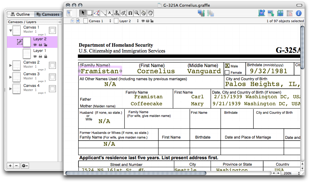 OmniGraffle for Bureaucracy - The Omni Group